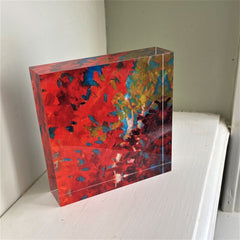carrie lacey boerio redbubble shop fall leaves acrylic block