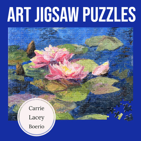 Carrie Lacey Boerio Art Jigsaw Puzzles