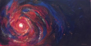 "Another galaxy (15x30"" painting)"