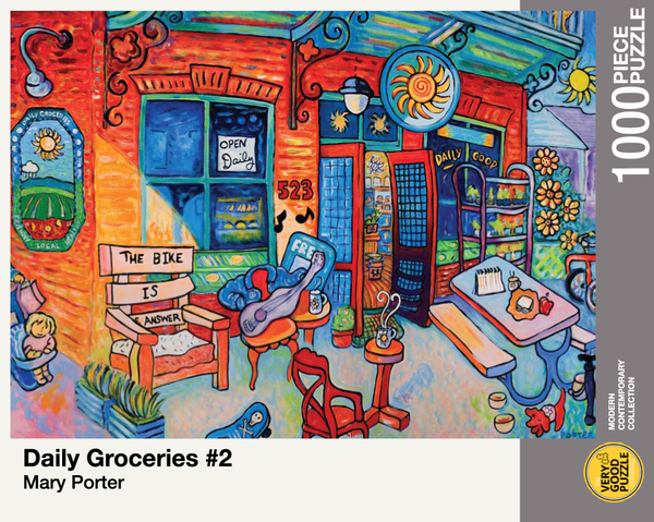 Daily Groceries #2 by Mary Porter - 1000 piece jigsaw puzzle