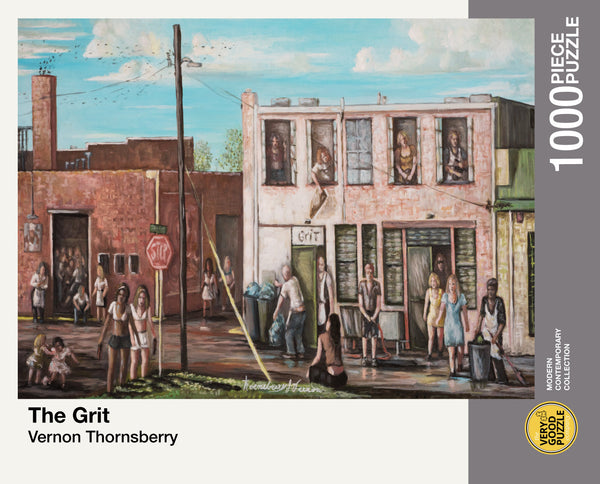 The Grit by Vernon Thornsberry - 1000 piece jigsaw puzzle