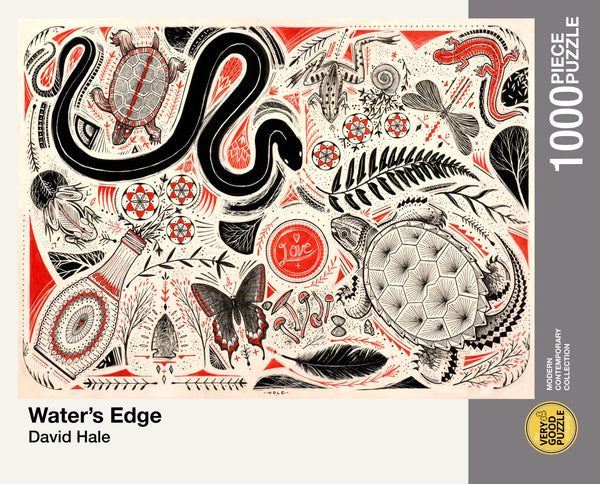 Water's Edge by David Hale - 1000 piece jigsaw puzzle