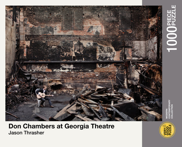 Don Chambers at Georgia Theatre by Jason Thrasher - 1000 piece jigsaw puzzle