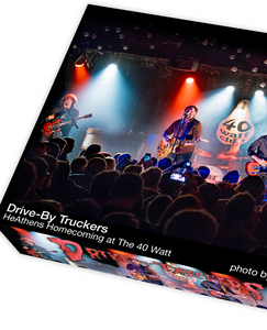 Drive-By Truckers HeAthens Homecoming at The 40 Watt, photo by Jason Thrasher - 1000 piece jigsaw puzzle
