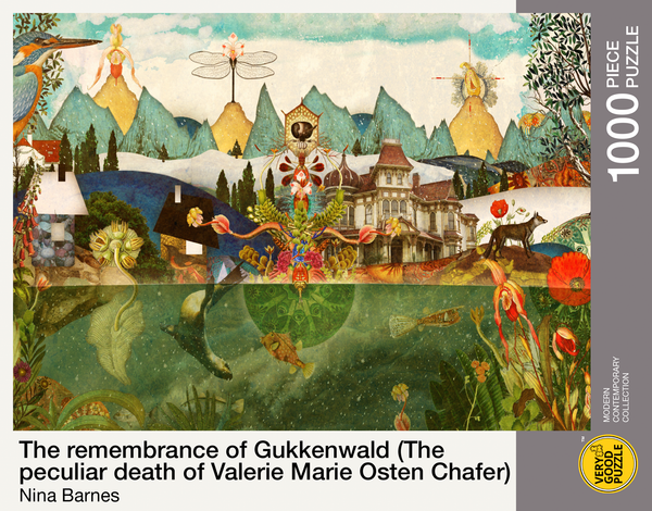 The remembrance of Gukkenwald (The peculiar death of Valerie Marie Osten Chafer) by Nina Barnes - 1000 piece jigsaw puzzle