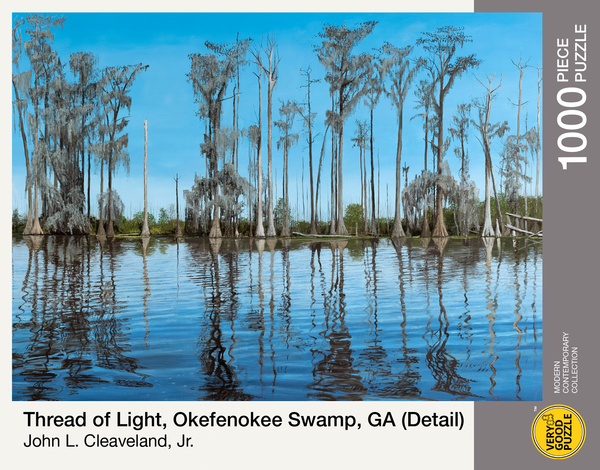 Thread of Light, Okefenokee Swamp, GA by John Cleaveland - 1000 piece jigsaw puzzle
