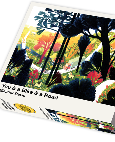 You & a Bike & a Road by Eleanor Davis - 1000 piece jigsaw puzzle