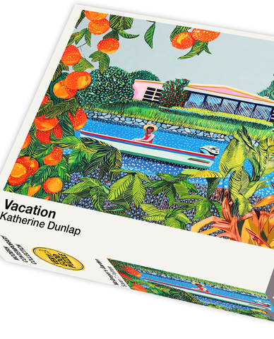Vacation by Katherine Dunlap - 1000 piece jigsaw puzzle