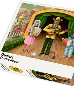 Quartet by Charles Keiger - 1000 piece jigsaw puzzle