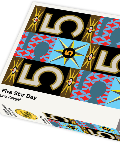Five Star Day by Lou Kregel - 1000 piece jigsaw puzzle