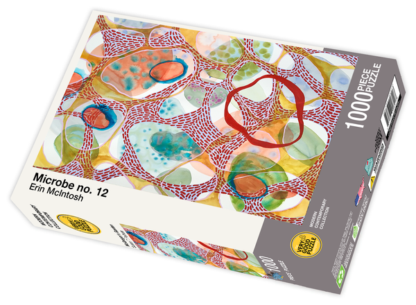 Microbe no. 12 by Erin McIntosh - 1000 piece jigsaw puzzle