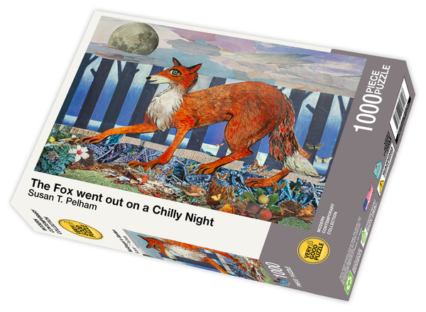 The Fox Went Out on a Chilly Night by Susan T. Pelham - 1000 piece jigsaw puzzle