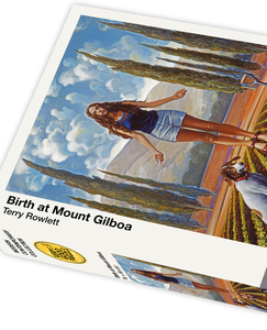 Birth at Mount Gilboa by Terry Rowlett - 1000 piece jigsaw puzzle