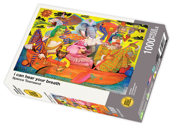 i can hear your breath by Spence Townsend - 1000 piece jigsaw puzzle
