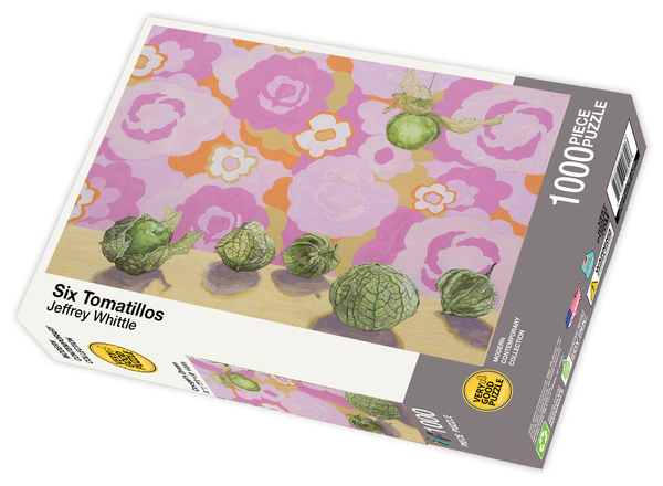 Six Tomatillos by Jeffrey Whittle - 1000 piece jigsaw puzzle