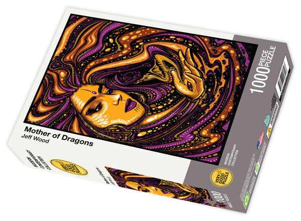 Mother of Dragons by Jeff Wood - 1000 piece jigsaw puzzle