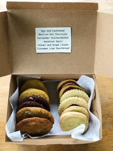 One dozen assorted cookies from Sun Cat Sweets