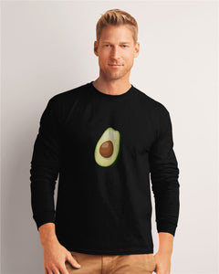 Men's Avocado Fitted Long Sleeve