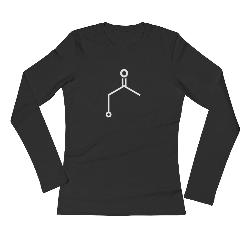 Women's Ketone (Acetone) Long Sleeve Shirt