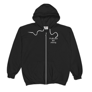Fueled by Fat Unisex Zip Hoodie