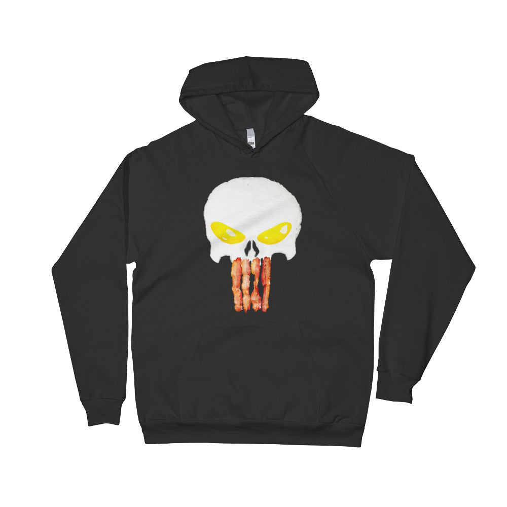 Punisher Eggs and Bacon Hoodie