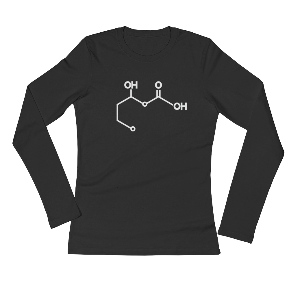 Women's Ketone (Beta-hydroxybuterate) Long Sleeve Shirt