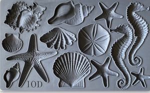 IOD Decor Mould Sea Shells