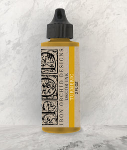 IOD Decor Ink Turmeric - Art by Julie Bledsoe