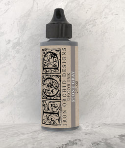 IOD Decor Ink Stone Gray - Art by Julie Bledsoe