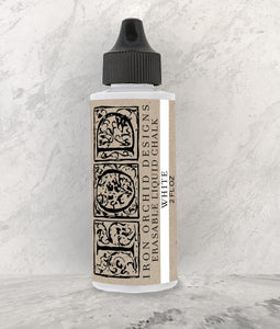 IOD Decor Erasable Liquid Chalk White - Art by Julie Bledsoe