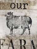 IOD Decor Stamp Farm Animals - Art by Julie Bledsoe