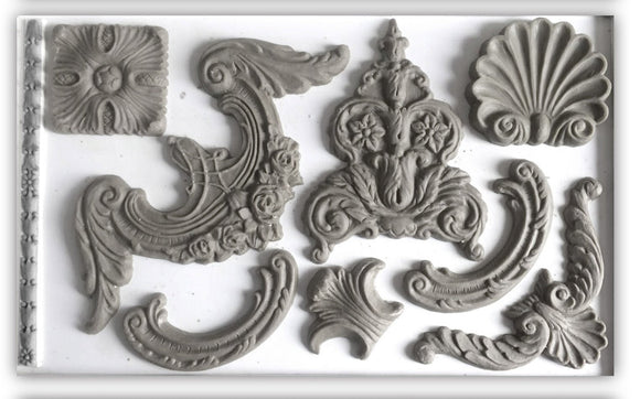 IOD Decor Mold Classic Elements - Art by Julie Bledsoe