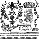 IOD Decor Stamp Queen Bee
