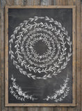 IOD Decor Stamp Wreath Builder - Art by Julie Bledsoe