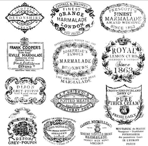 IOD Decor Stamps Crockery