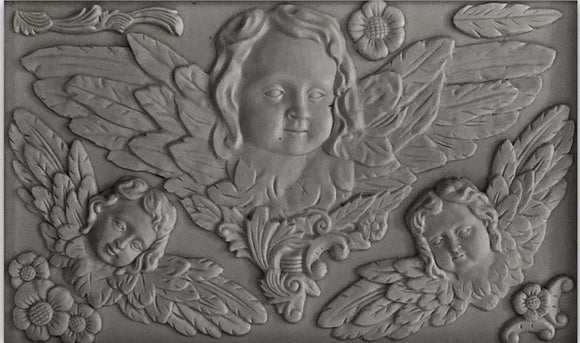 IOD Decor Mold Cherubs