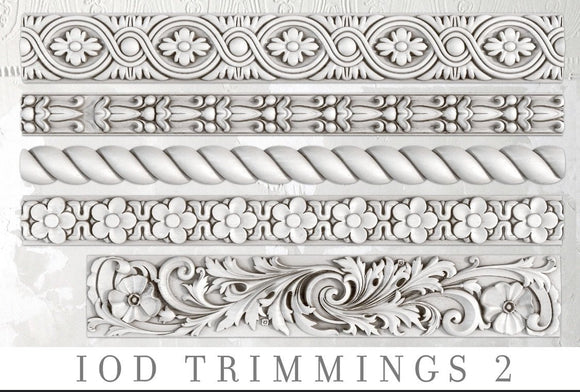 IOD Decor Mold Trimmings 2 - Art by Julie Bledsoe
