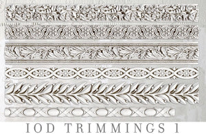 IOD Decor Mold Trimmings 1 - Art by Julie Bledsoe