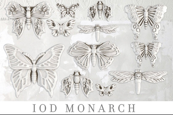 IOD Decor Mold Monarch