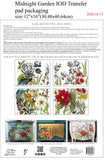 IOD Decor Transfer Botanist's Journal Shipping Oct. 30