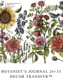 IOD Decor Transfer Botanist's Journal