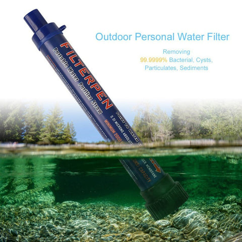 Portable Outdoor Water Filter