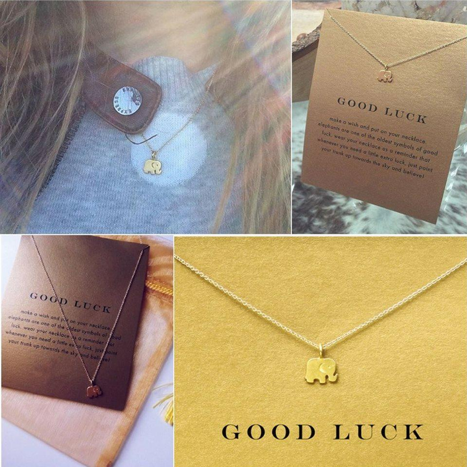 Goog Luck Elephant Necklace