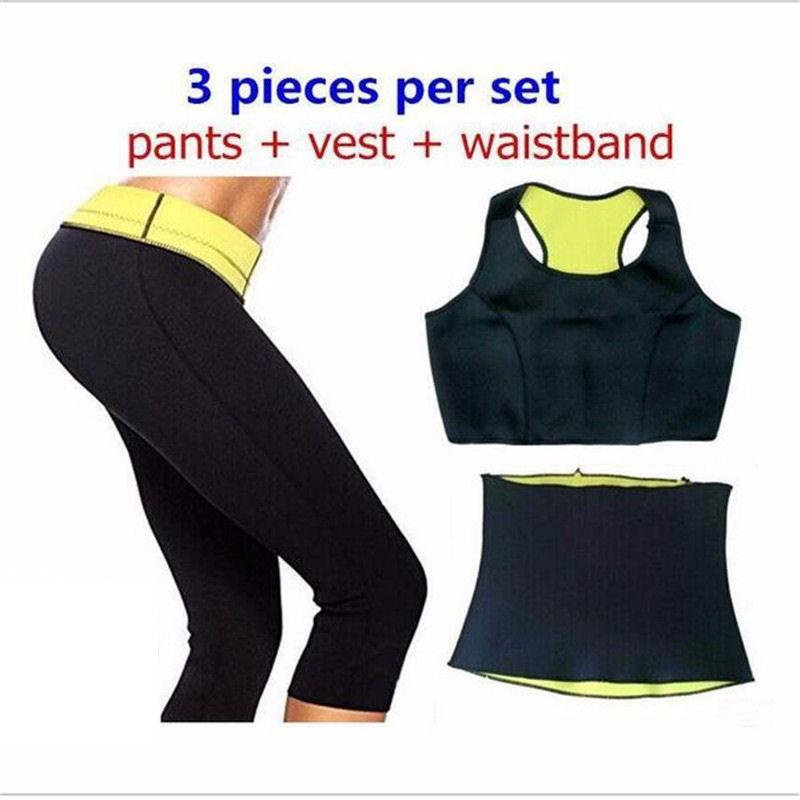 Neoprene Hot Shaping Fitness Set
