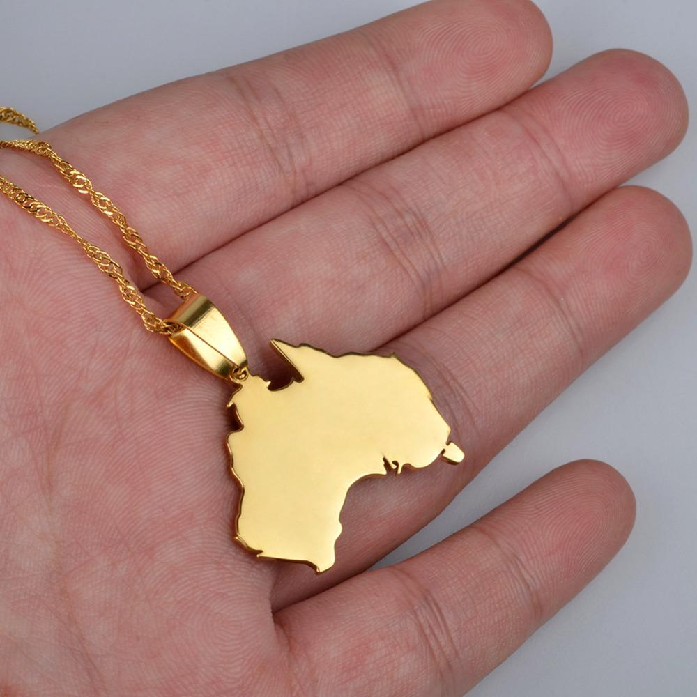 Patriotic Australian Necklace
