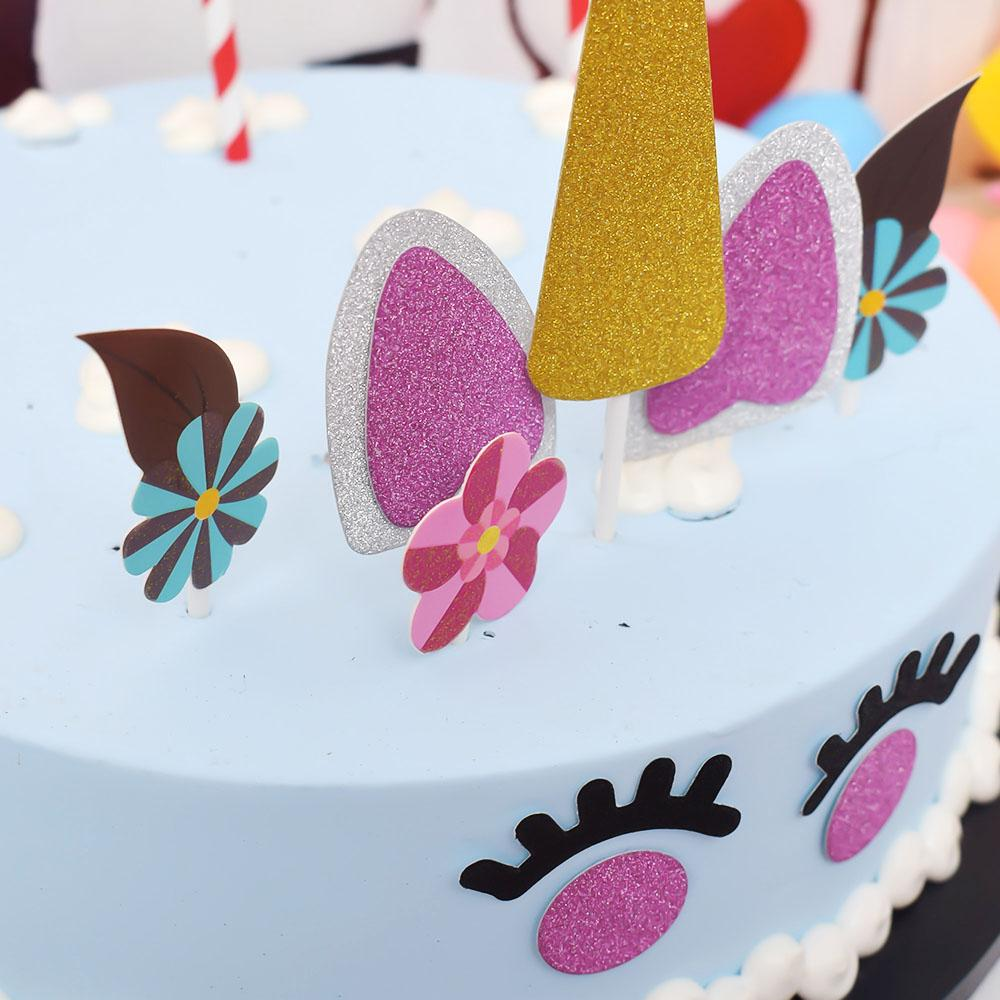 Unicorn Party Cake Decoration Kit