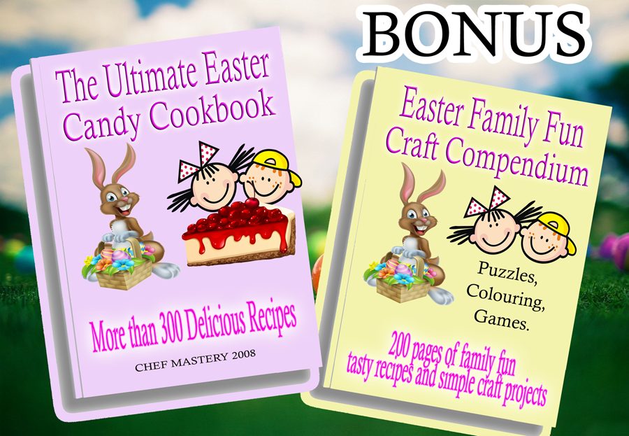 The Ultimate Easter Recipe, Craft and Games Bundle