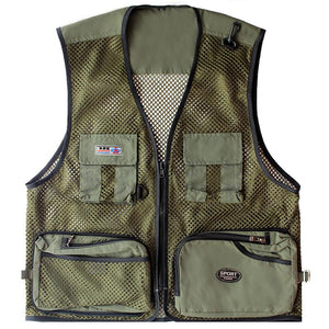 Mesh Style Fly Fishing Vest