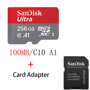Sandisk Ultra Micro SD 128GB 32GB 64GB 256GB 16G 400GB Micro SD Card SD/TF Flash Card Memory Card For Phones