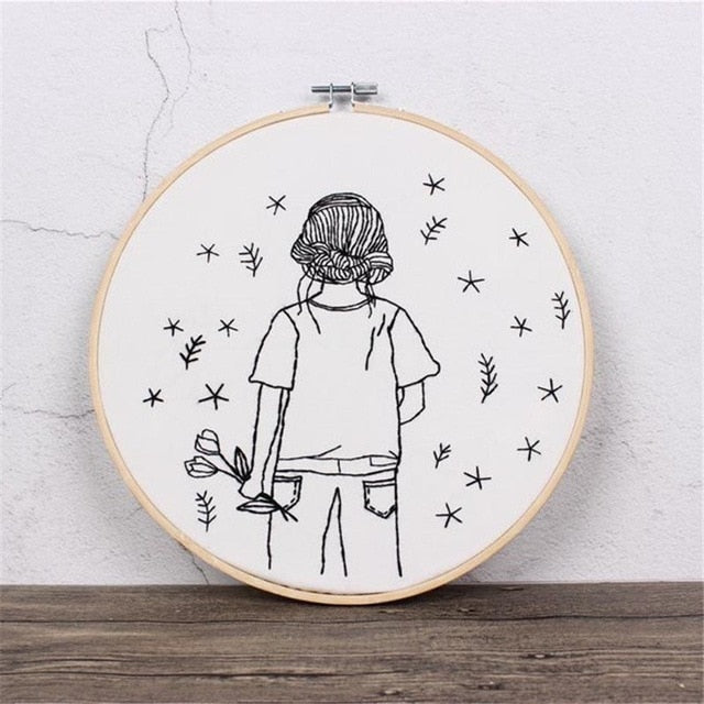 Sketch Easy Embroidery Kit for Beginner